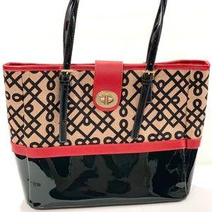 $175 Spartina turn key classic tote womens handbag